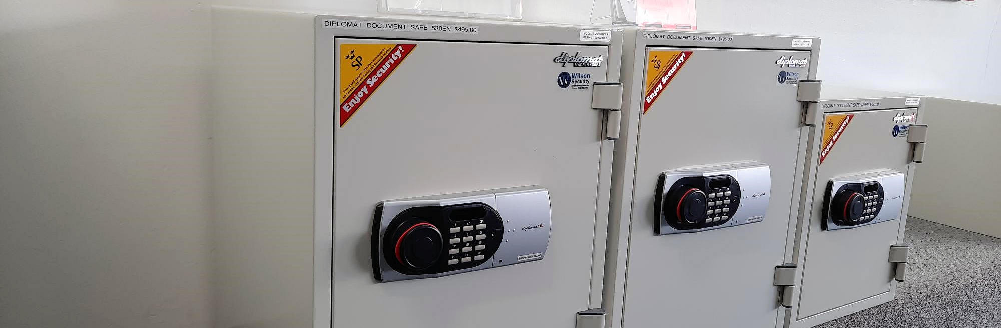 New and Second hand safes