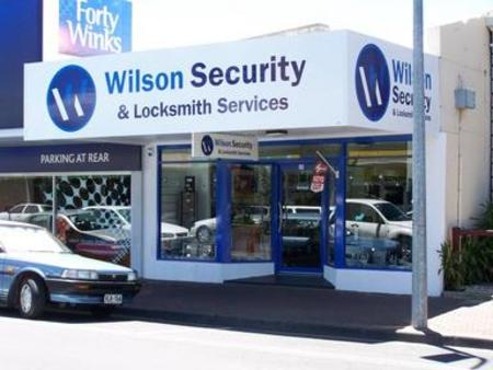 Head office of Wilson Security & Locksmiths