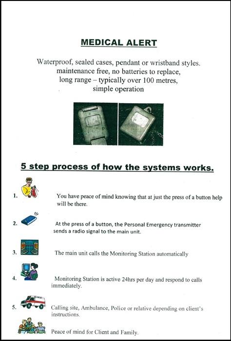 Medical Alert Security Process